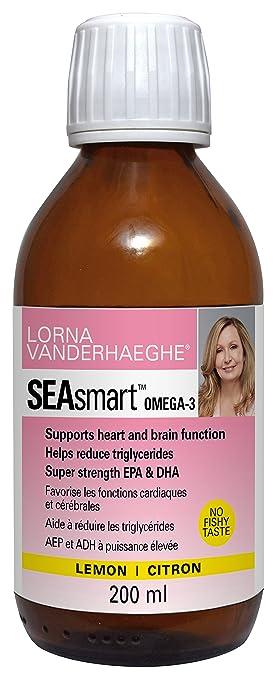 Lorna Vanderhaeghe SEAsmart Omega-3 Lemon, 6.8 oz
