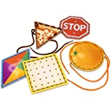 Melissa & Doug Lace and Trace Shapes With 5 Wooden Panels and 5 Matching Laces
