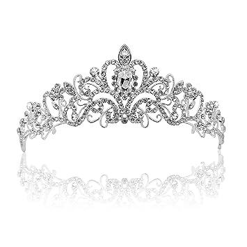 Wedding Bridal Comb Tiara Crown Crystal Rhinestone Pageant Prom Hair Headband