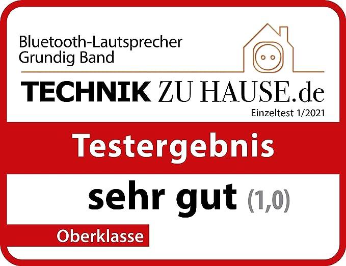 Grundig Gbt Band Army Green Bluetooth Lautsprecher Mit Dab Und Ukw Radio 30 Meter Reichweite Mehr Als 8 Std Spielzeit Audio Hifi