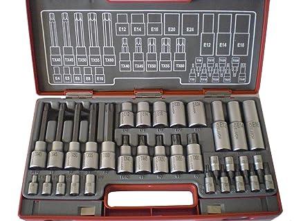Juego de herramientas 32 teilig höfftech caja de puntas de ...