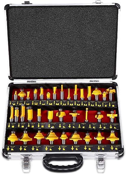 15° Nutfräser Fräser für Oberfräse Holzfräser Oberfräser Werkzeug