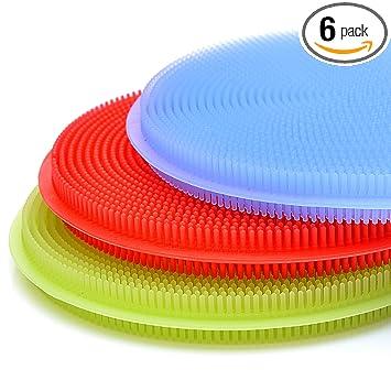 Amazon.com: SimplyNonSlip Esponja de silicona y Scrubber ...
