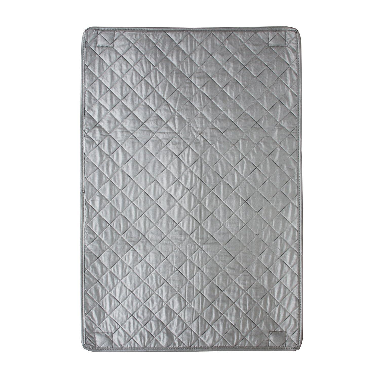 スマートデザイン磁気アイロンパッド - 耐熱設計 - アイロン衣類、洗濯物、リネン - ホーム整理用 (29 x 19インチ) [シルバー] B01DMGHSIU