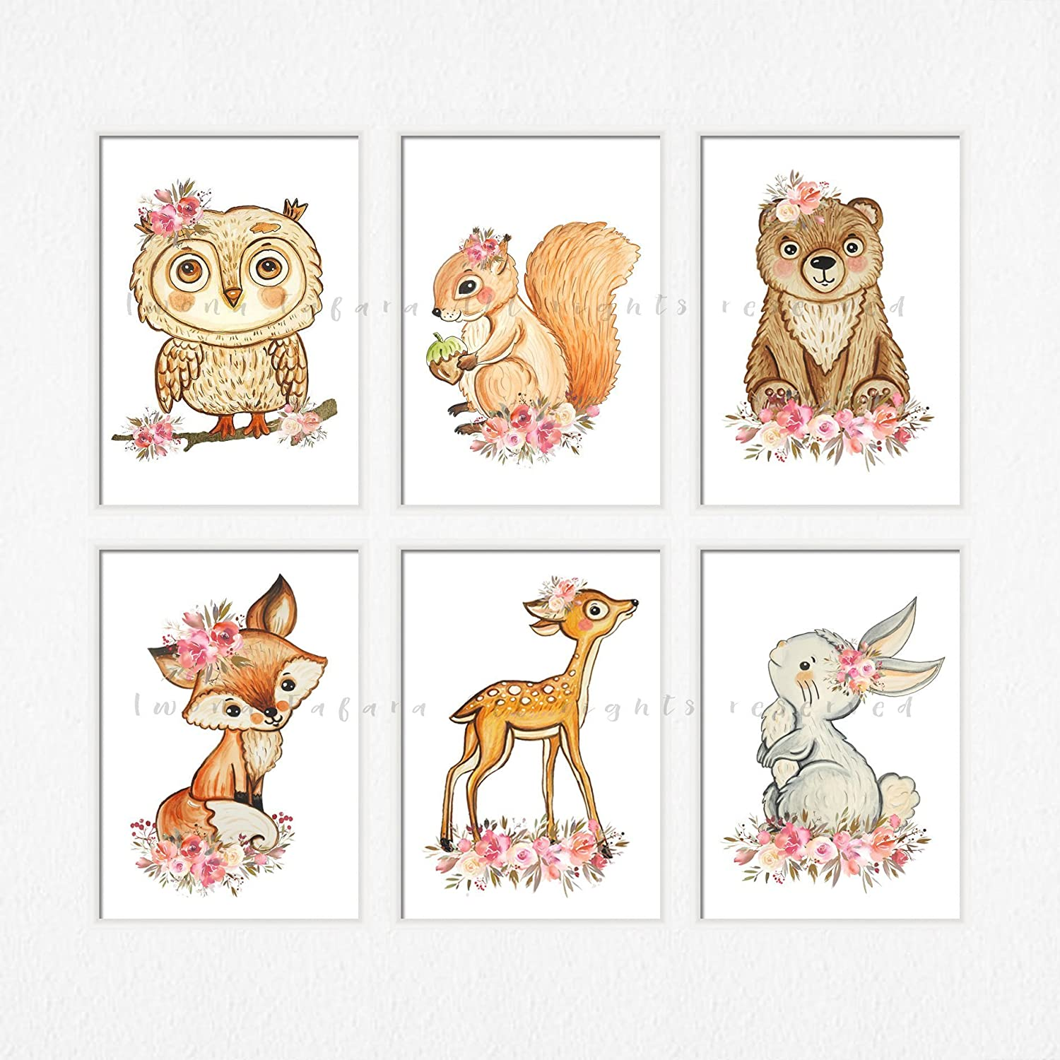 picture regarding Printable Images of Animals titled : Printable woodland pets print Woodland