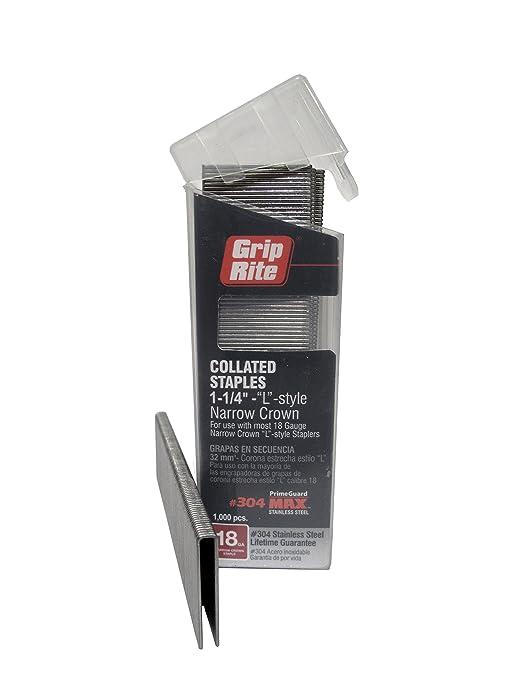 Grip Rite Prime Guard MAXB64888 18-Gauge 1/4