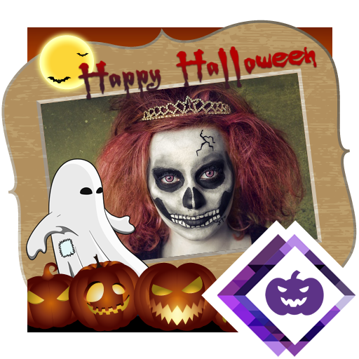 Halloween Photo Frame Maker -