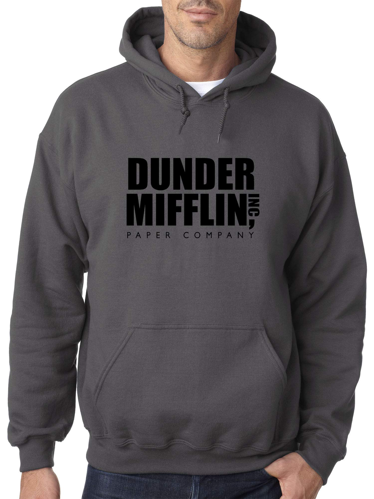 1165 Adult Dunder Mifflin Inc Paper Company Office Logo Unisex Pullover Shirts