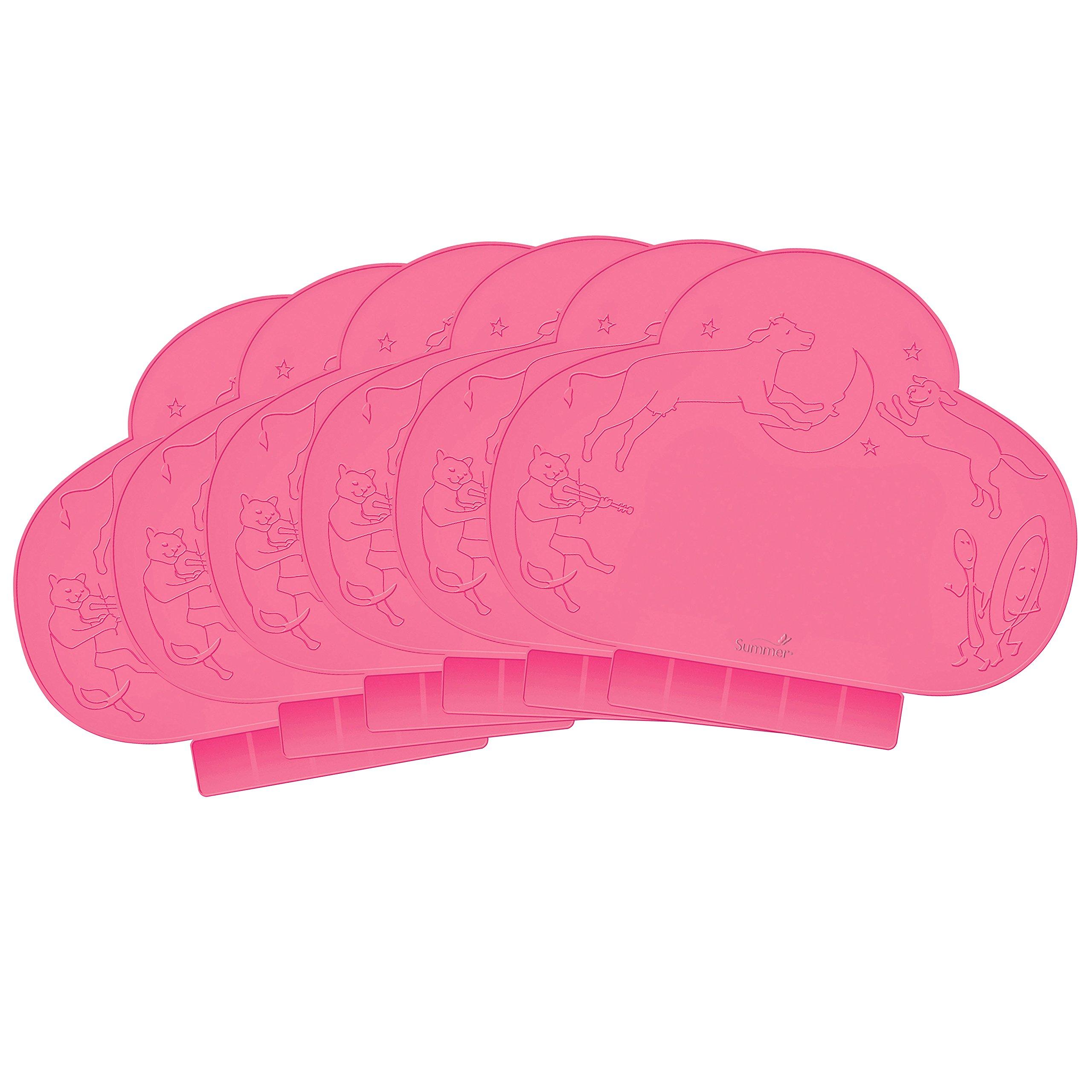 Summer Infant, une petite cantine portative, de couleur rose, 18 pouces x 13 pouces (46 cm x 33 cm) ( Multi-Pack)