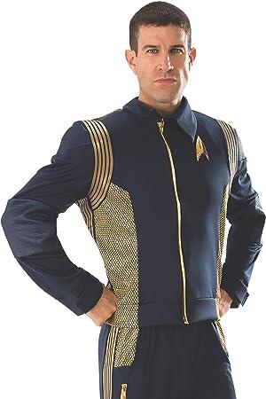 STAR TREK Discovery Command Uniform Gold Male Adult Costume Jacket ...