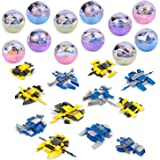 FUN LITTLE TOYS Mini Building Blocks Spaceship for Goodie Bags, Party Favors, Kids Prizes, 12 Packs 36 Models