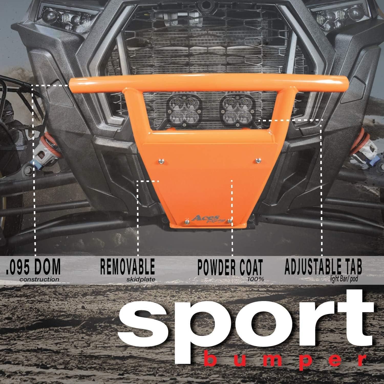 Orange Turbo S Polaris RZR XP Turbo S Front Bumper 2018-2020