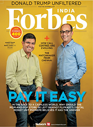 Forbes India Magazine: December 8;2017