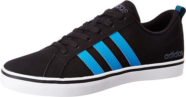 adidas VS Pace Sneakers Herren schwarz m. blauen Streifen