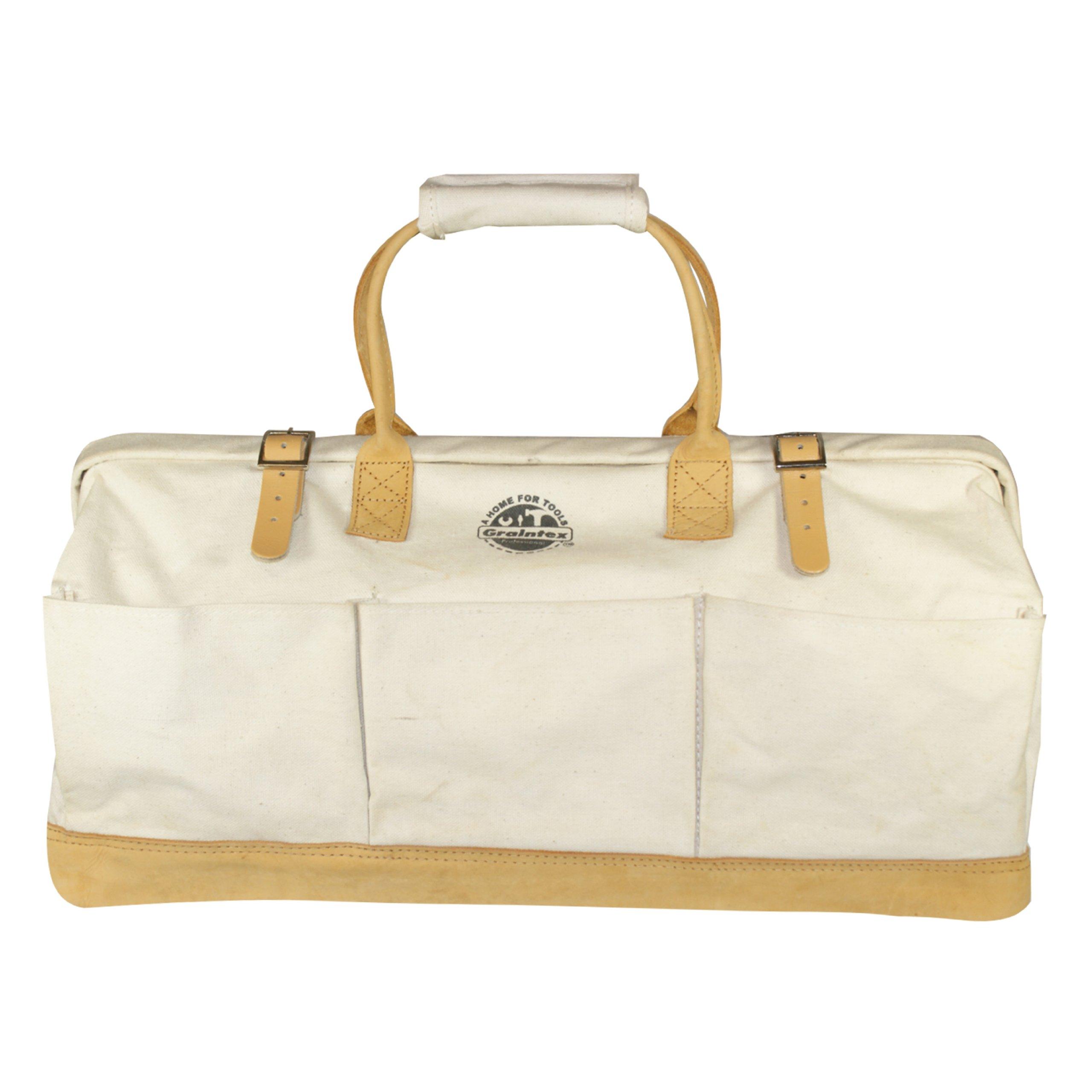 Graintex CB1153 24-Inch Mason's Canvas Tool Bag