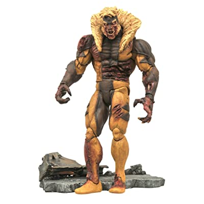 Diamond Select Toys Marvel Select: Zombie Sabretooth Action Figure: Toys & Games [5Bkhe1102244]