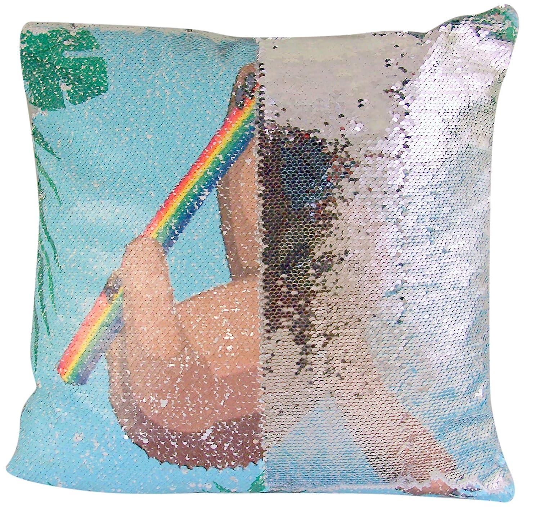 Amazoncom Myxx Reversible Magic Sequin Sloth Throw Pillow With