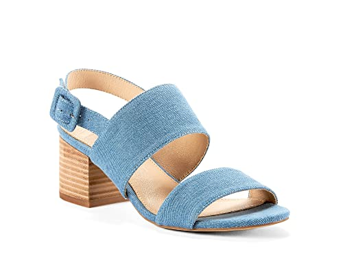 a4ac22c2eee Yellow Shoes Kita Womens Low Block Heel Sandals - Casual   Comfortable -  Gladiator Made from