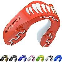 SAFEJAWZ Protector bucal Adultos y niños para Todos los Deportes de Contacto, incluidos Rugby, MMA, Artes Marciales de…