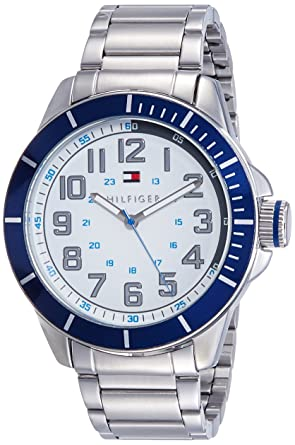 2cb57884 Buy Tommy Hilfiger Analog White Dial Men's Watch - TH1791068 Online at Low  Prices in India - Amazon.in