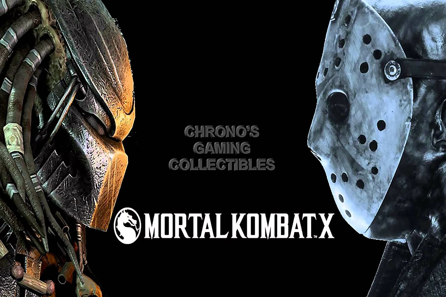 CGC Huge Poster - Mortal Kombat X Predator VS Jason PS3 PS4 XBOX 360 ONE - MKX022 (24