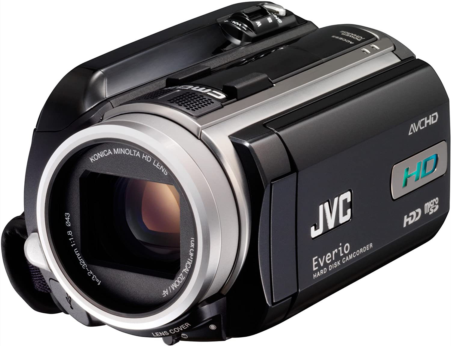 Amazon.com : JVC Everio GZ-HD10 AVCHD High Definition Camcorder w/10x  Optical Zoom (Discontinued by Manufacturer) : Video Camera : Camera & Photo