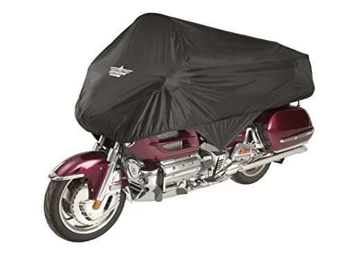 Ultragard 4-458BK Black Touring Motorcycle Half Cover