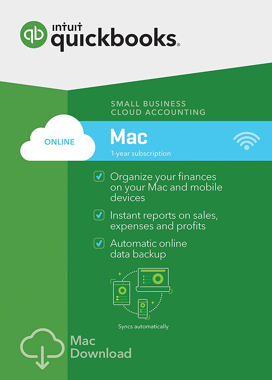 QuickBooks Online Mac 2017 Small Business Accounting [Old Version]