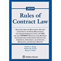 Rules of Contract Law: 2019-2020 (Supplements)