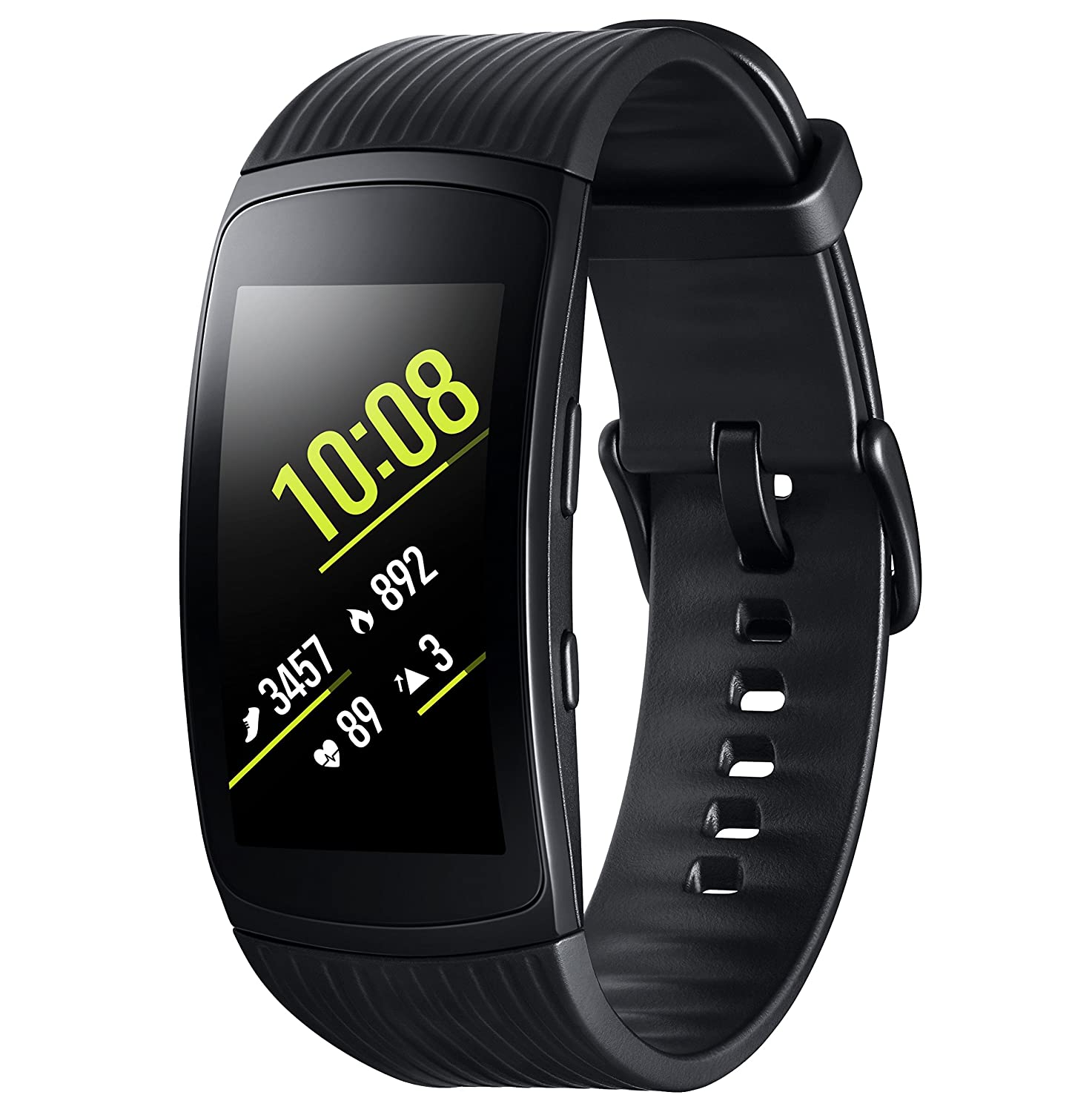 Samsung Gear Fit 2 Pro   Activity Tracker With Hr (Black) by Amazon