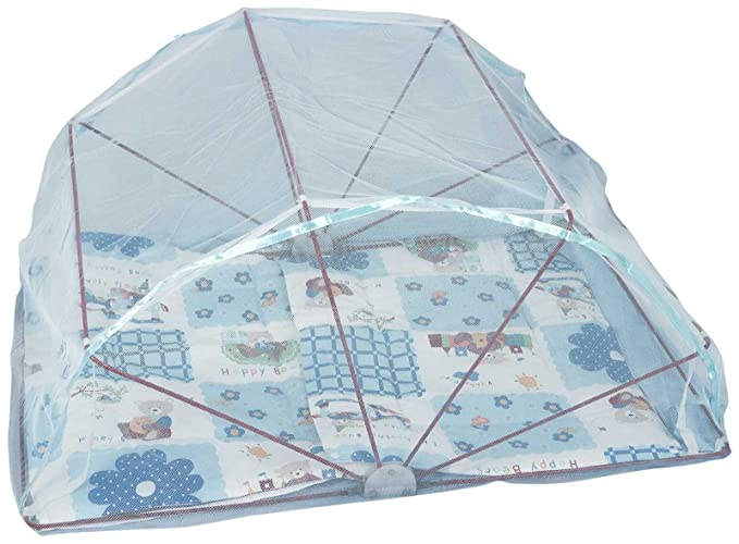 Elegant Babycare foldable Mosquito Net - Blue for Kids