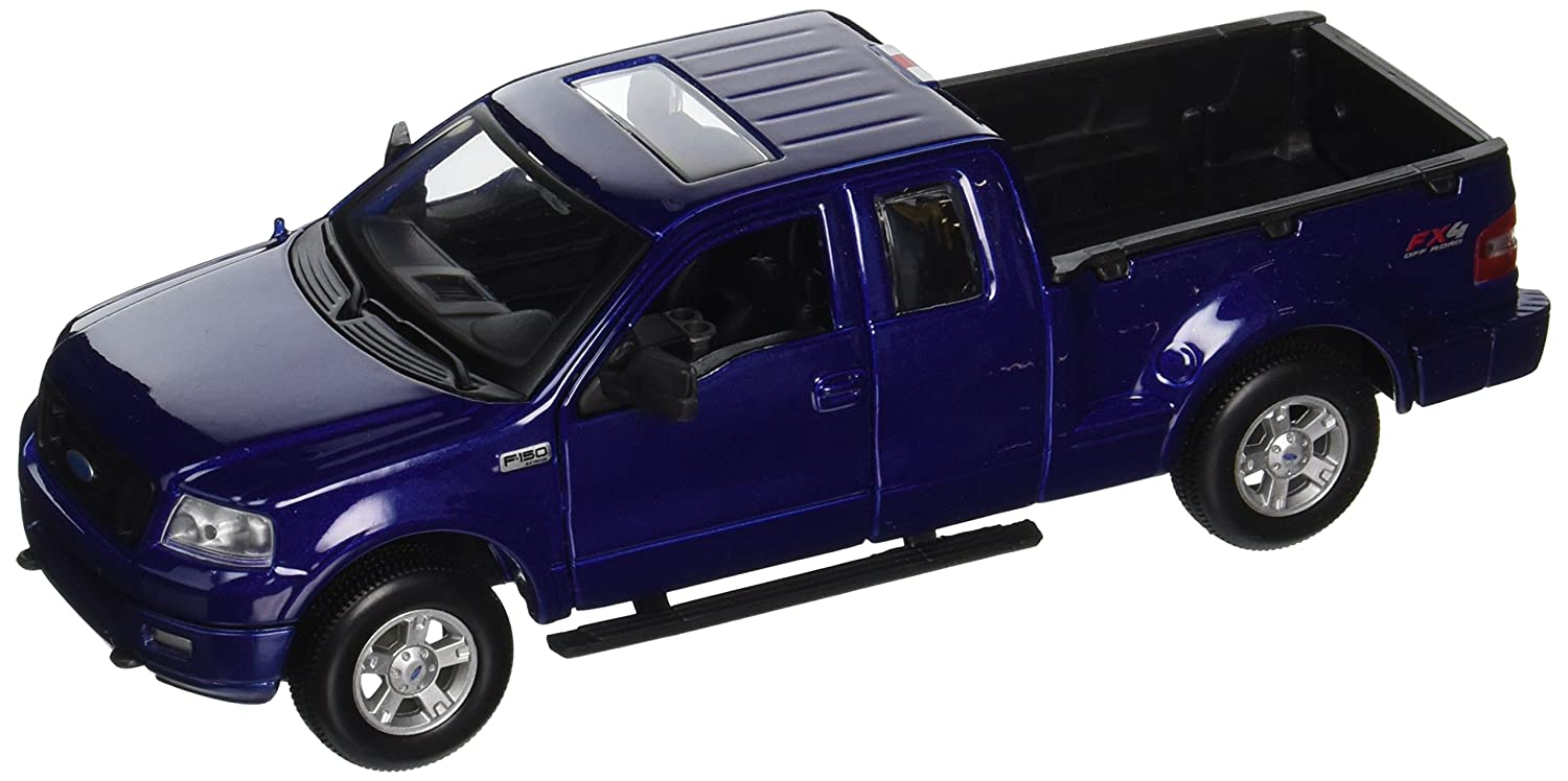 2004 Ford F 150 Fx4 Pickup Truck Metallic Blue 1 31 By Special Edition Maisto 31248 Toys Games