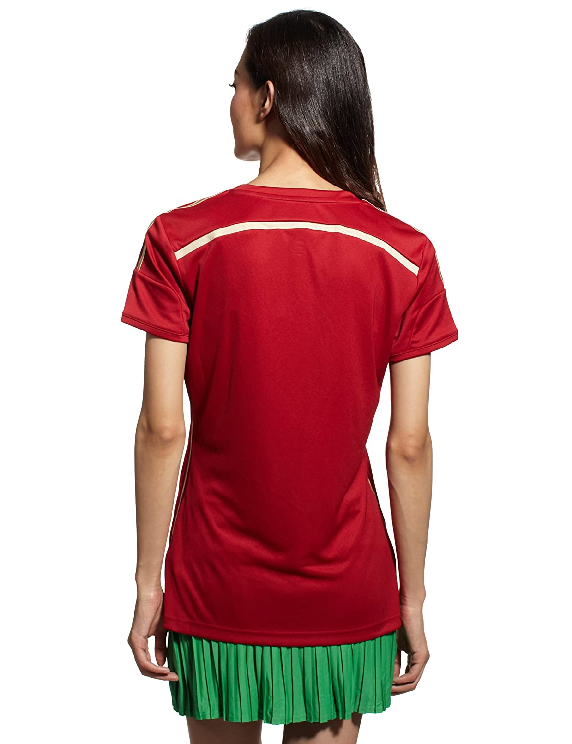 0617c5a05 adidas Womens Spain National Football Top T Shirt World Champion Edition:  Amazon.co.uk: Clothing