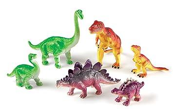 Amazon.com: Learning Resources Jumbo Dinosaurs: Mommas and Babies ...