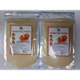 QYKKARE Orange Peel Powder (200 gm =100 X 2) Skin Whitening