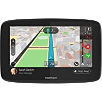 Car GPS Navigation 5 Inch Display TomTom Go 52 with WiFi, Lifetime Maps and Traffic, Siri and Google Now Compatible, Hands-Free Calling and Smartphone Messaging