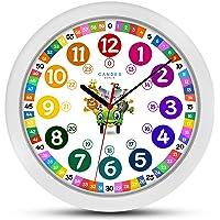 ONETIME Reloj de Pared para niños Colorido
