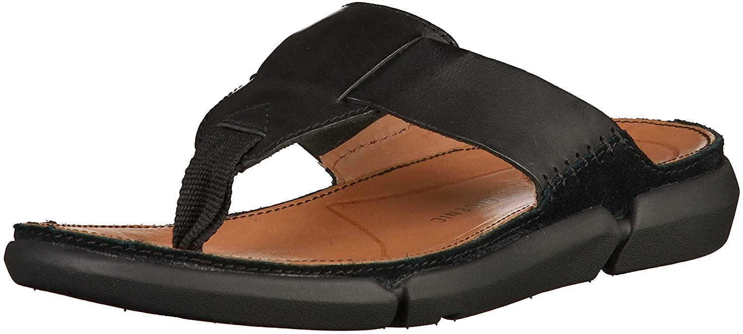 ec69adae6af Clarks Men s Trisand Post Flip Flops Thong Sandals  Buy Online at Low  Prices in India - Amazon.in
