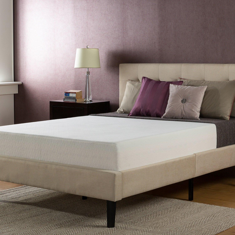 Sleep Master 10'' Total Therapeutic Comfort Premium Memory Foam Mattress - Queen