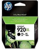 HP 920XL Cartouche d'Encre Noir Grande Capacité Authentique (CD975AE)