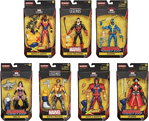 Marvel Legends Blue Deadpool Strong Guy Baf IN STOCK