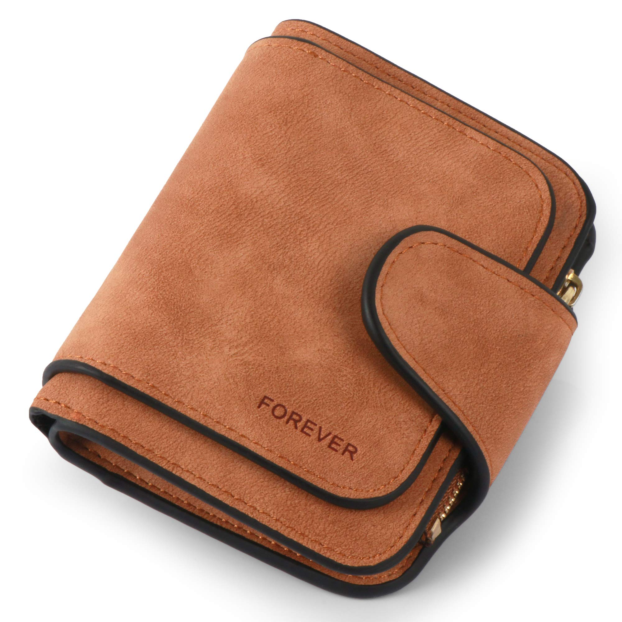 Women Purse Fashion Pu Leather Cute Clutch Small Ladies Credit Card Holder Wallet Organizer For Female Color - Brown