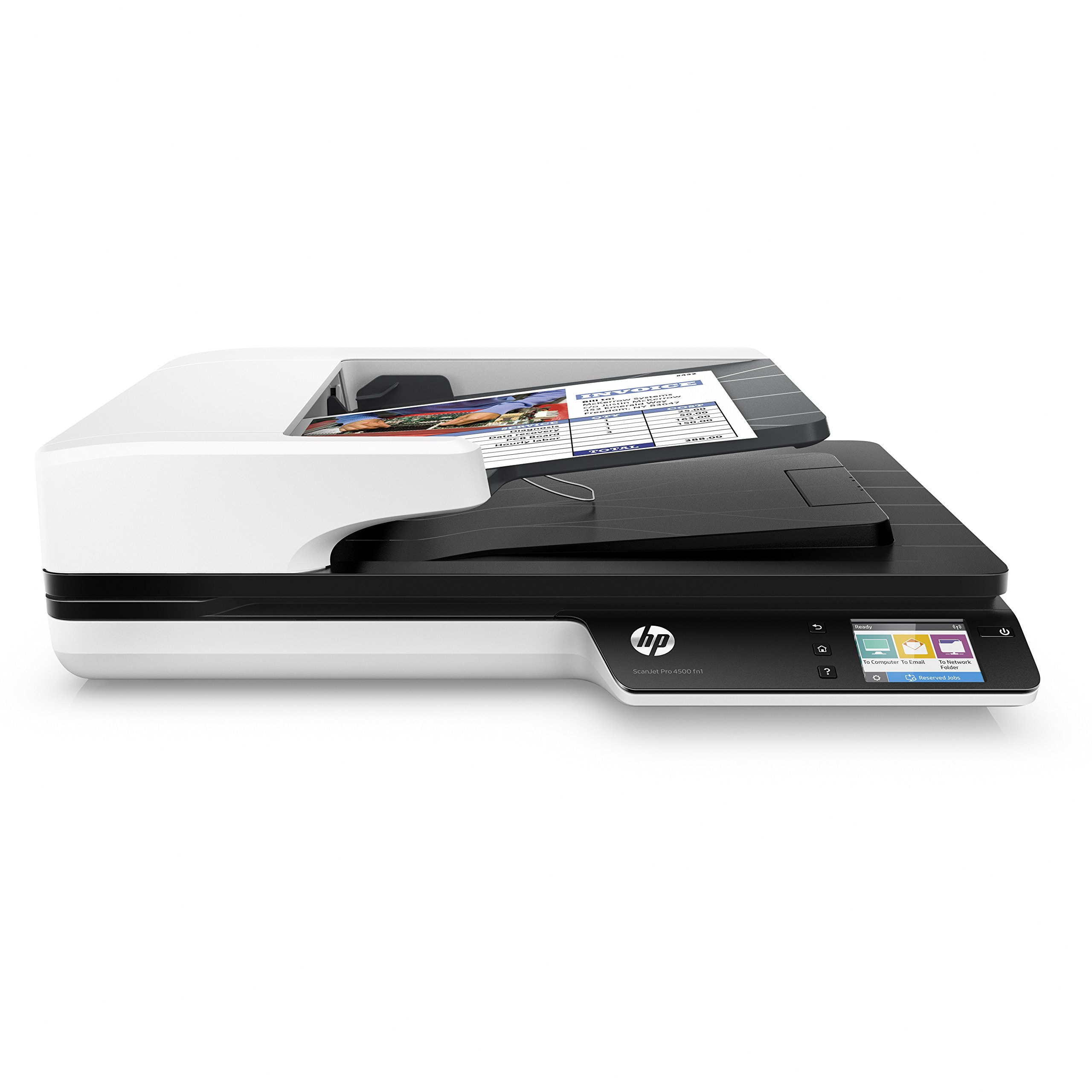 HP ScanJet Pro 4500 fn1 Network OCR Scanner by HP
