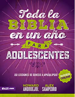 Toda la Biblia en un año para adolescentes (Spanish Edition)