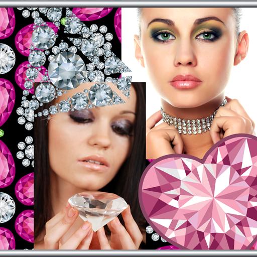 Diamond Photo Collage