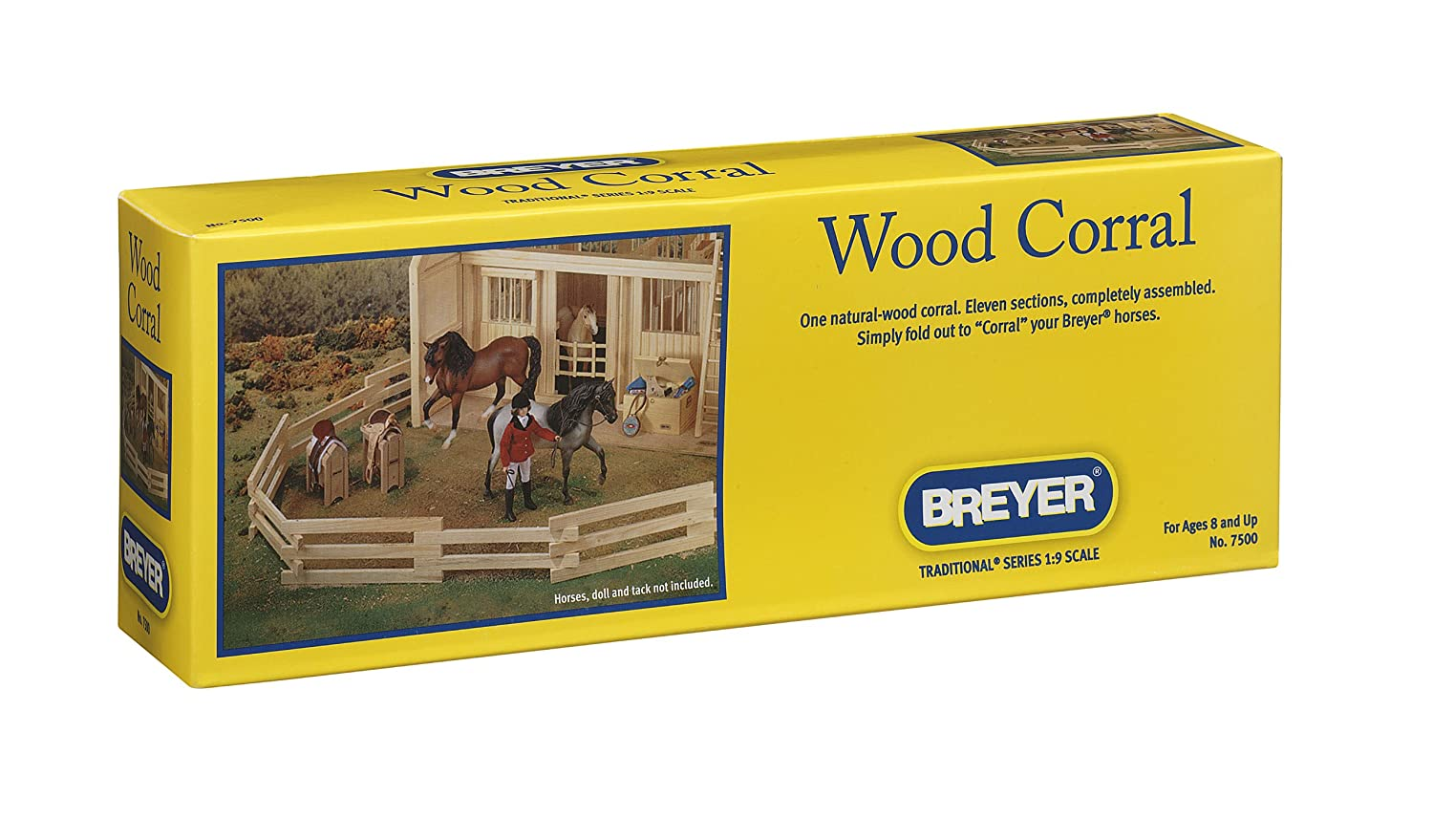 Breyer Traditional Wood Corral Fencing Accessory Toy 7500