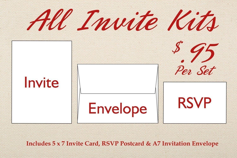 c082001b66fa6 Country Wedding Invitations Set Printed, Rustic Wedding Invitation ...