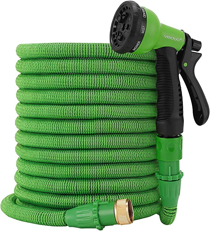Flexible Hose for Flowers and Plants Expandable Hose Outfun Garden Hose Water Hose Expandable Garden Hose with Free 7-Way Spray Nozzle,Collapsible Hose,Watering Hose