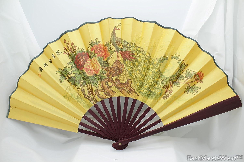 Amazon.com: Vintage Chinese Palace Fabric Coated Paper Bamboo Hand ...