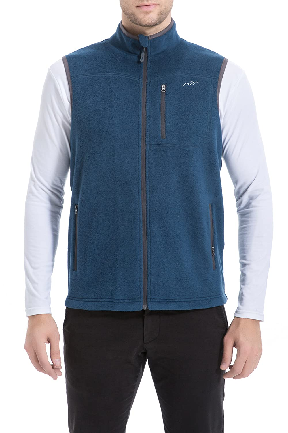 Trailside Supply Co. Men's Front-Zip Fleece Vest 012-Fleecevest-PARENT